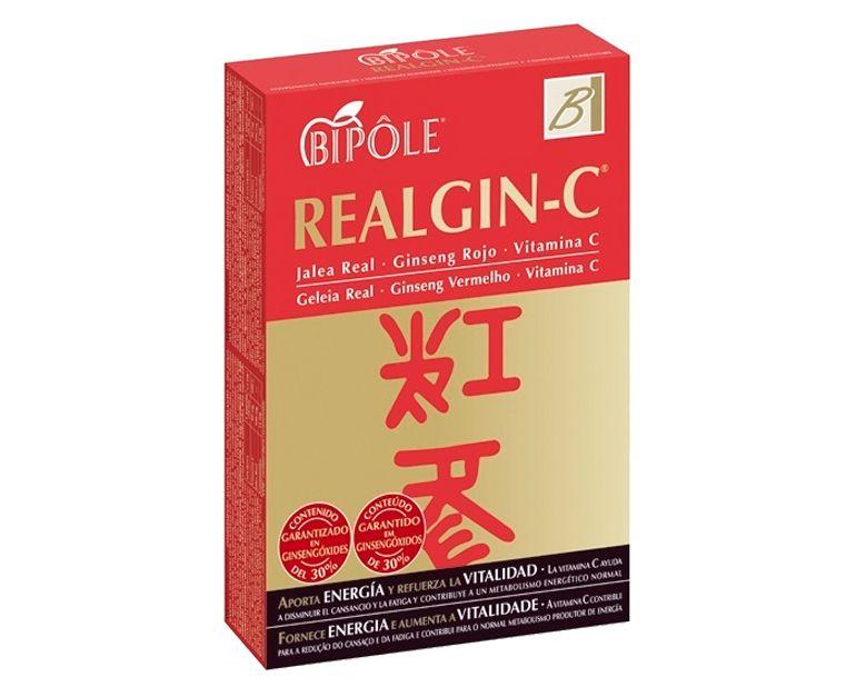 Realgin-C energía vitalidad ampollas Bipole
