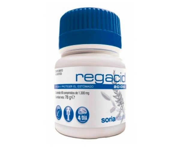 Regacid proteger estómago comprimidos Soria Natural