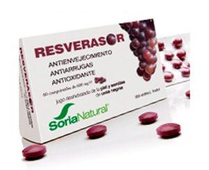 Resverasor antienvejecimiento comprimidos Soria Natural