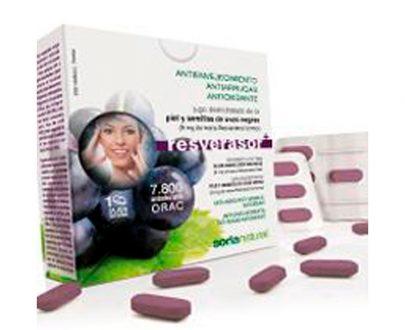 Resverasor Plus antienvejecimiento comprimidos Soria Natural