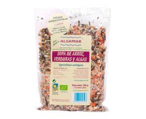 Sémola Arroz Verduras y Algas Eco Algamar