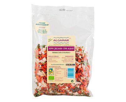 Sopa Juliana con Algas Eco Algamar