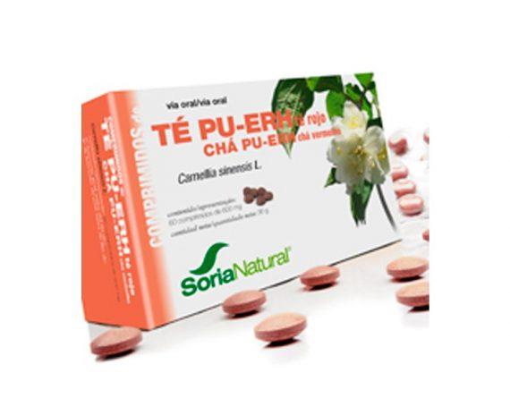 Té Rojo comprimidos de planta Soria Natural