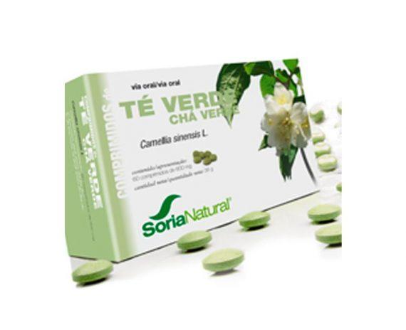 Té verde comprimidos de planta Soria Natural