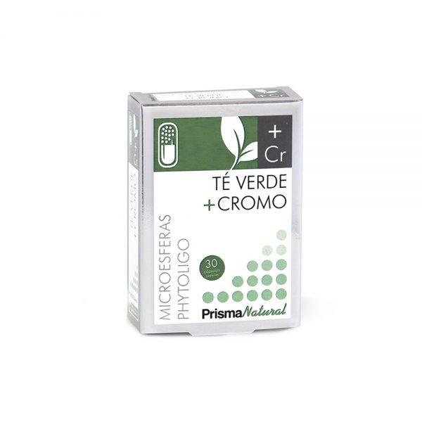 Té verde + cromo microesferas Phytoligo Prisma Natural
