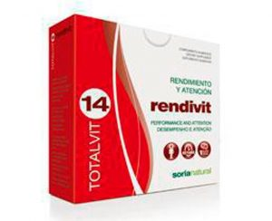Totalvit 14 Rendivit comprimidos Soria Natural