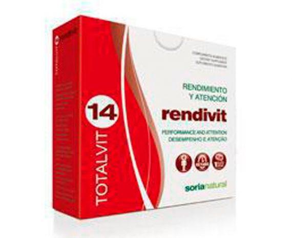 Totalvit 14 Rendivit comprimidos Soria Natural