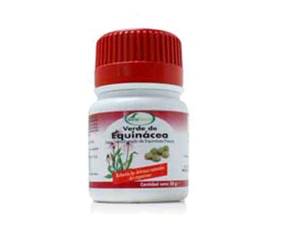 Verde de Equinácea comprimidos Soria Natural