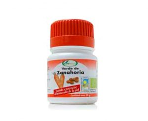 Verde de Zanahoria comprimidos Soria Natural
