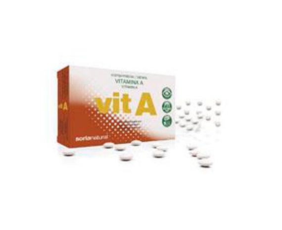 Vitamina A comprimidos Retard Soria Natural