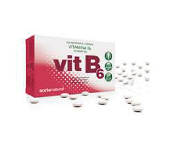 Vitamina B6 comprimidos Retard Soria Natural