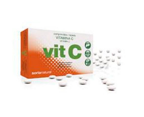 Vitamina C comprimidos Retard Soria Natural