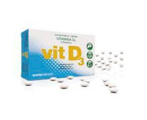 Vitamina D3 comprimidos Retard Soria Natural