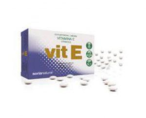 Vitamina E comprimidos Retard Soria Natural