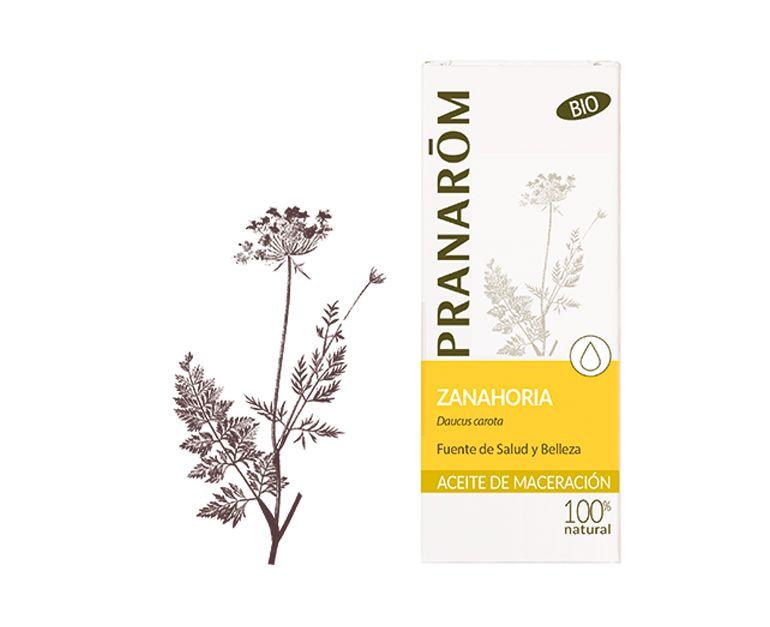 Zanahoria aceite vegetal bio Pranarom