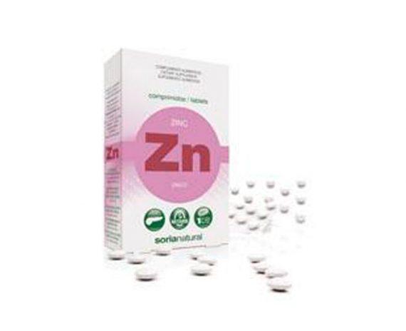 Zinc comprimidos Retard Soria Natural