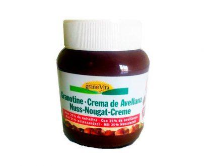 Crema avellanas con cacao Granovita