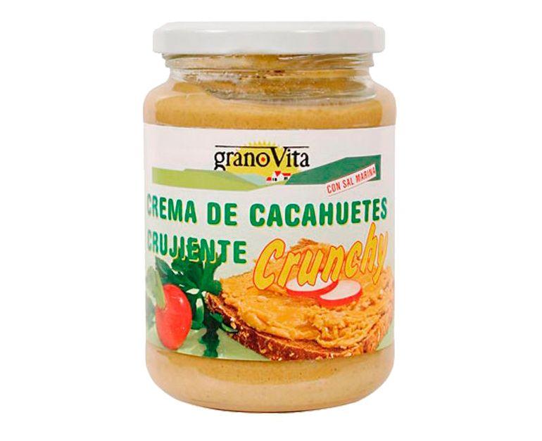 Crema cacahuete Crunchy Granovita
