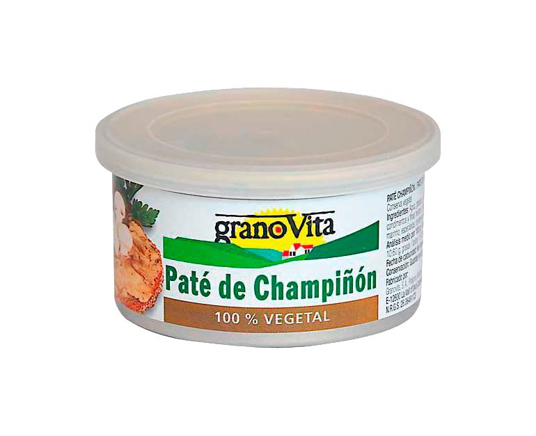 Paté champiñón lata Granovita