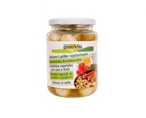 Salchicha vegetal asar o freir Granovita