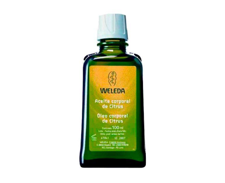 Aceite corporal refrescante Citrus Weleda