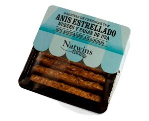 Barritas Cereales Anís estrellado, nueces y pasas Natwins