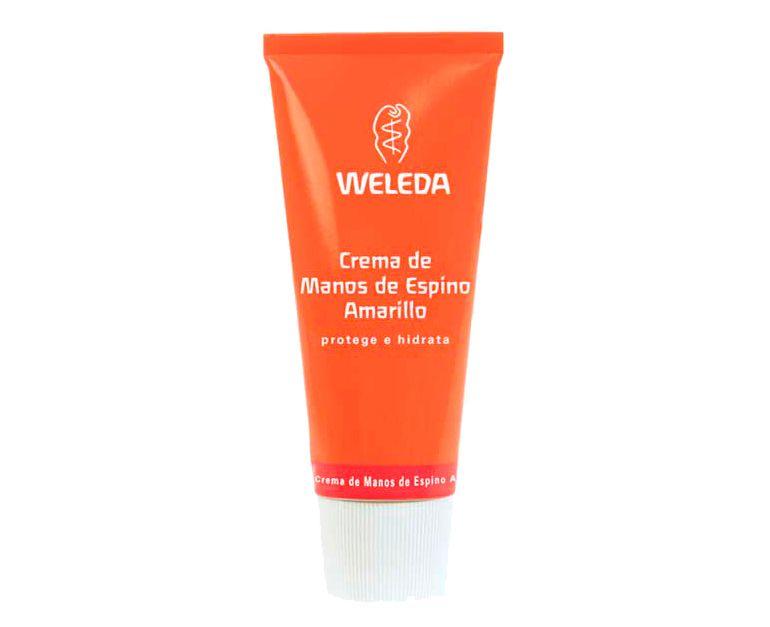 Crema de manos hidratante Espino Amarillo Weleda