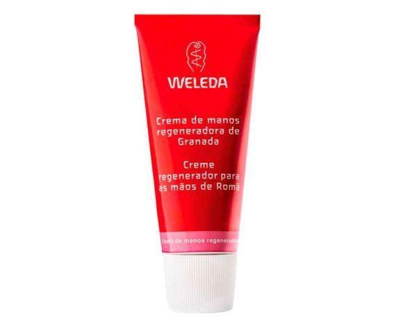 Crema de manos regeneradora Granada Weleda