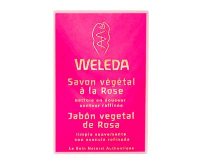Jabón vegetal Rosa Mosqueta Weleda