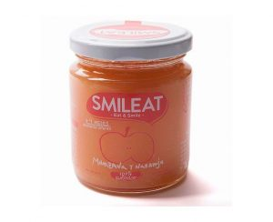 Potito Bio Manzana con naranja Smileat