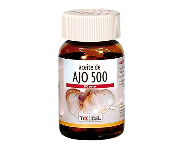 Aceite de Ajo-500 perlas Tongil