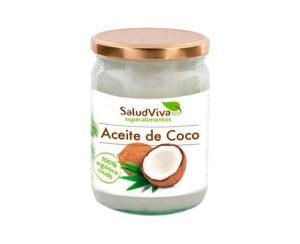 Aceite de coco eco superalimentos Salud Viva