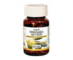 Aceite de Espino Blanco, Ajo y Olivo perlas Tongil