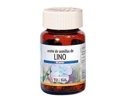 Aceite de Lino perlas Tongil