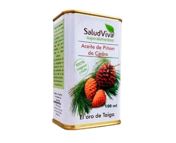 Aceite de Piñon de Cedro superalimentos Salud Viva