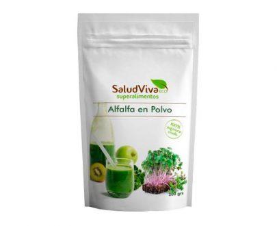 Alfalfa en polvo superalimentos Salud Viva