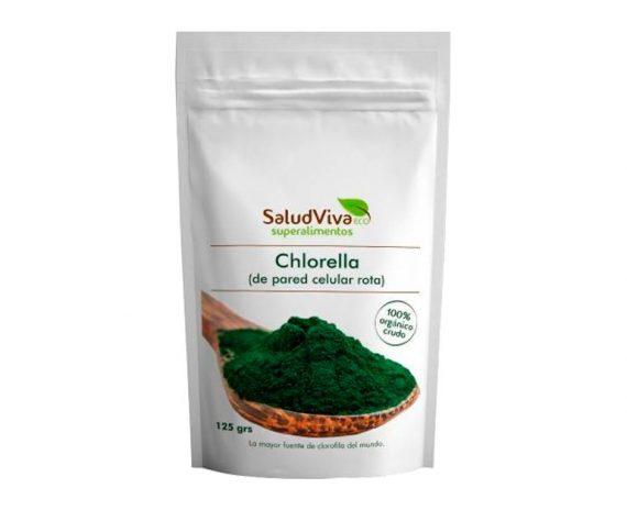 Alga Chlorella en polvo eco superalimentos Salud Viva