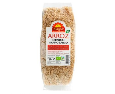 Arroz Integral largo bio Biográ