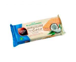 Barquillos rellenos coco Diet Radisson
