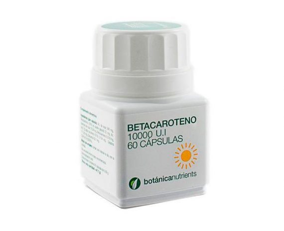 Betacaroteno cápsulas Botánica Nutrients