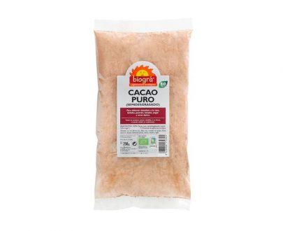 Cacao en polvo puro bio Biográ
