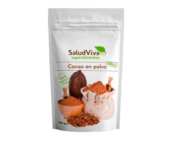 Cacao en polvo eco superalimentos Salud Viva