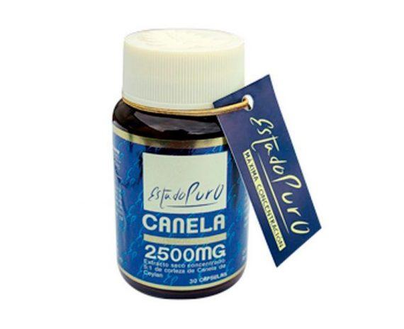 Canela 2500 mg cápsulas Tongil