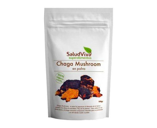 Chaga Mushroom superalimentos Salud Viva