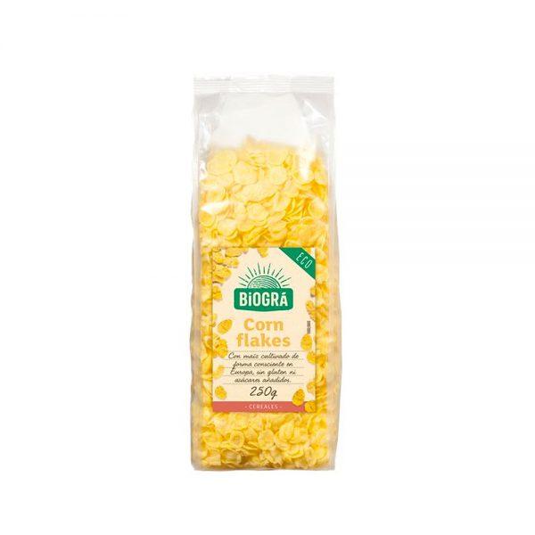 Corn Flakes sin azúcar bio Biográ