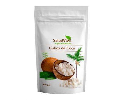 Cubos de Coco superalimentos Salud Viva