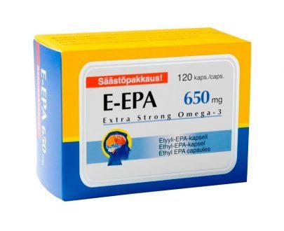E EPA 90% 650 mg perlas
