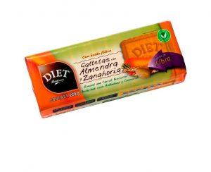 Galletas almendra zanahoria Diet Radisson