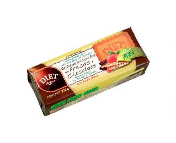 Galletas integrales fresa choco Diet Radisson