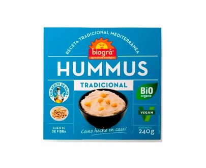 Hummus tradicional bio Biográ